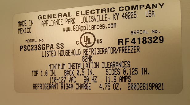 Ge profile refrigerator model psc23sgpass we could install the new control board but our technician decided to help customer save some money and fixed their existing refrigerator control board publicscrutiny Images