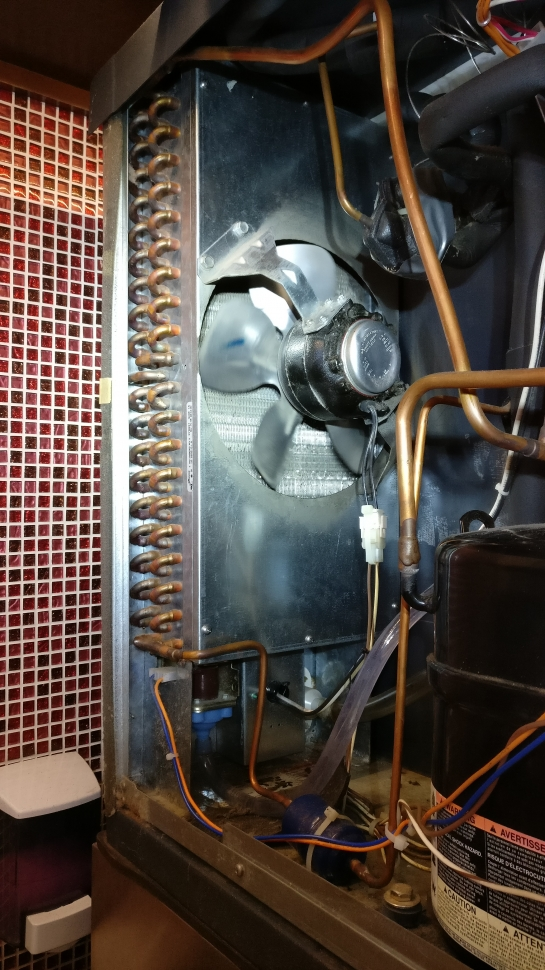 once cleaned the coil, the commercial scotsman ice machine started working  again