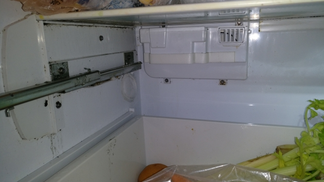 Although Sounded Like A More Complicated Issue At First, This Turned Out To  Be A Pretty Basic Repair Of A Common Problem. The Opening In Between The  Fridge ...